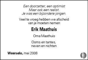 Erik Maathuis