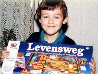 Matthijs Kienhuis op z'n 8ste verjaardag