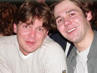 Matthijs Kienhuis met zijn broer Ruben