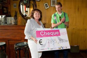 Ride4aSmile brengt 3000 euro op